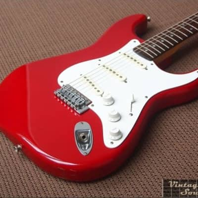 Fresher Straighter FSV-380  Stratocaster early 80's Dakota Red for sale