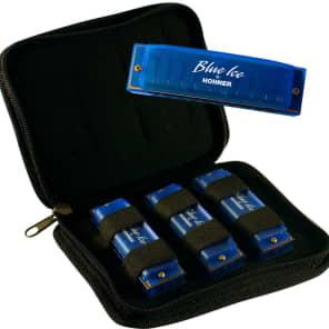 Hohner BIP Blue Ice Harmonica 3-Pack - Keys C, D, G