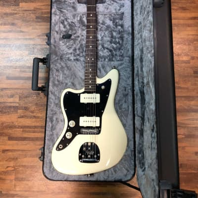 Fender American Professional Jazzmaster Left-Handed with Rosewood Fretboard 2019 Olympic White for sale