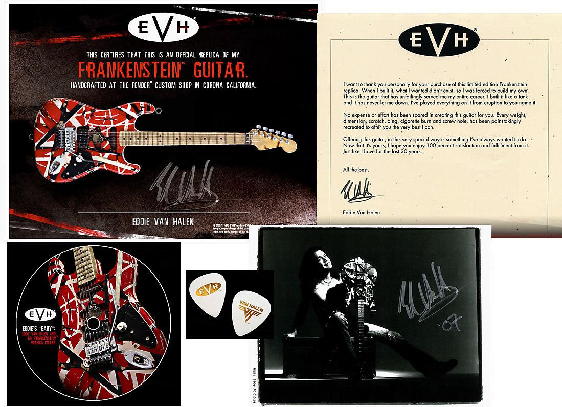 Evh Frankenstein 2007 Relic By Fender Custom Shop Stratocaster Eddie Van Halen 1 Of 300 Worldwide