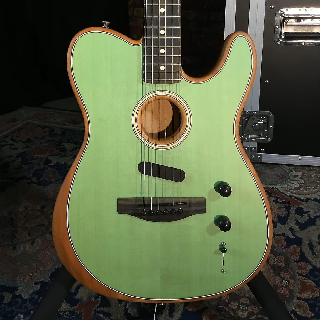 Fender American Acoustasonic Telecaster- Surf Green