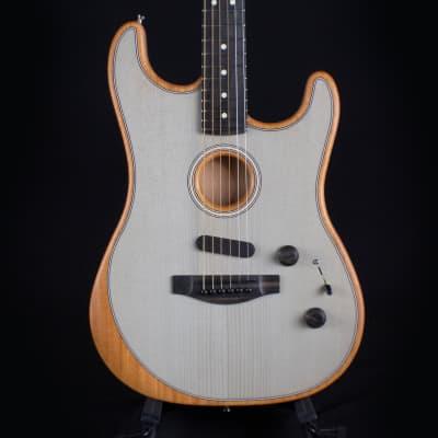 Fender Acoustasonic Stratocaster Transparent Sonic Blue (US203746A)
