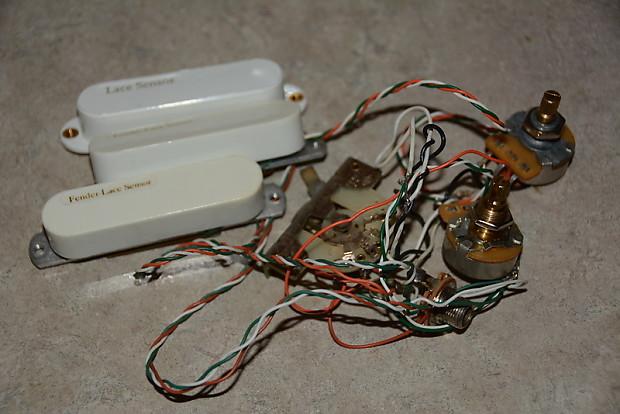 [SCHEMATICS_48DE]  Lace Sensor Lace Gold White w/wiring harness | The GUITARDR | Reverb | Lace Sensor Wiring |  | Reverb