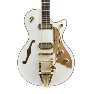 Duesenberg Starplayer TV Phonic Semi-Hollow Venetian White