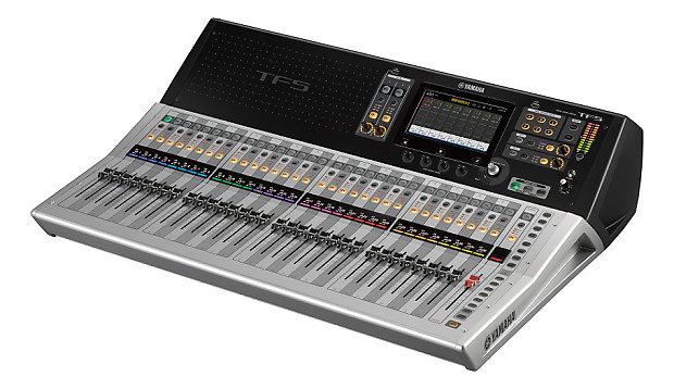yamaha tf5 digital mixing console with 33 motorized faders reverb. Black Bedroom Furniture Sets. Home Design Ideas
