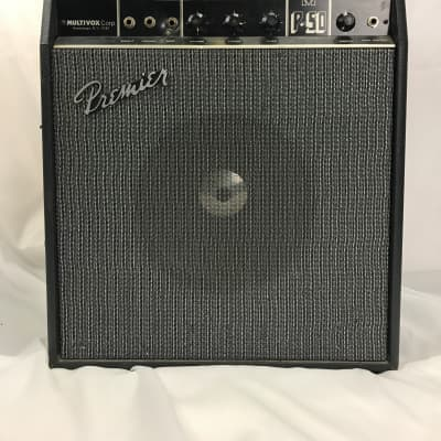 Vintage Multivox Premier P-50 Guitar Amp for sale