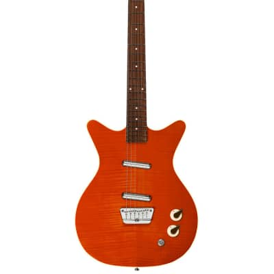 Danelectro 59 Divine, Flame, New, Free Shipping
