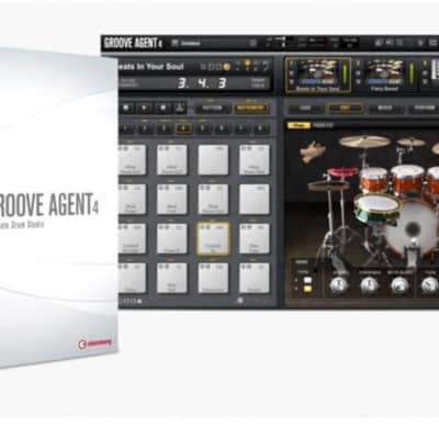 Steinberg Groove Agent 4 FREE upgrade
