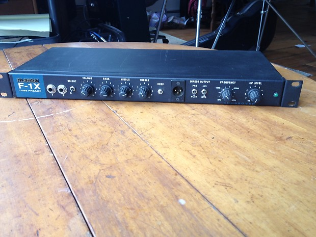 Alembic F 1x Bass Preamp Reverb
