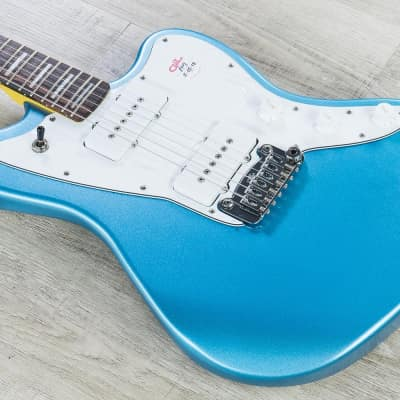 G&L Tribute Doheny Electric Guitar Brazilian Cherry Fingerboard Lake Placid Blue image