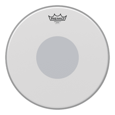 "Black Dot SnareDrum Batter Remo Controlled Sound X 14/"""
