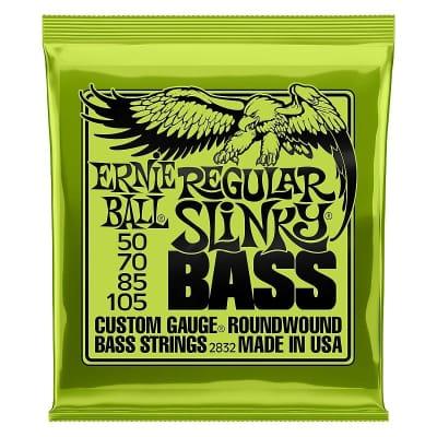 Ernie Ball 2832 Regular Slinky Nickel Wound Electric Bass Strings - .050-.105