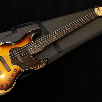 Xotic XJ-1T 5st Heavy Aged Lacquer #1987 2020 3-Tone Sunburst for sale