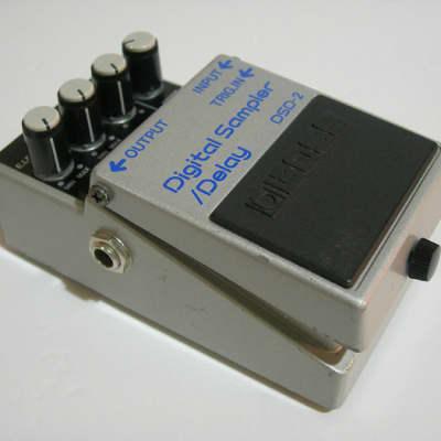 Boss DSD-2 Digital Sampler/Delay Made in Japan 1985