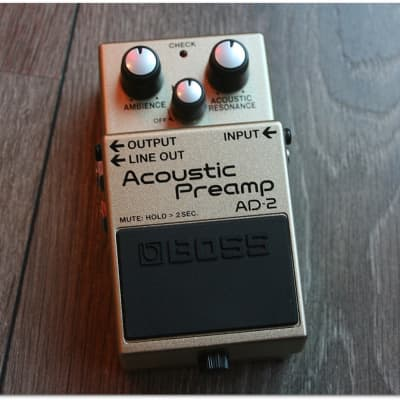 """Boss """"AD-2 Acoustic Preamp"""""""
