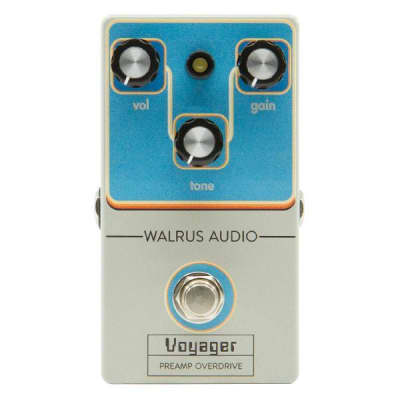 WALRUS AUDIO VOYAGER PREAMP/OVERDRIVE - BLACK FRIDAY 2018 LTD. ED. ($199 USD) for sale