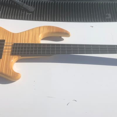 Conklin GT4 GrooveTools Fretless Electric Bass Guitar for sale