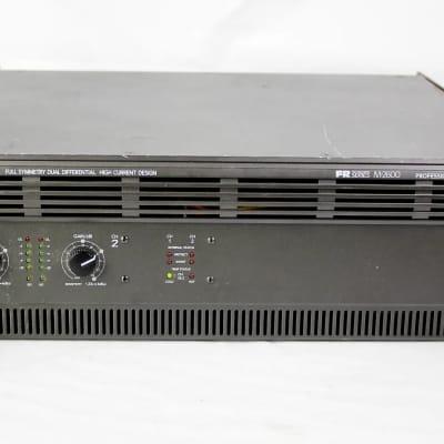 Mackie M2600 FR Series 2-Channel Power Amplifier