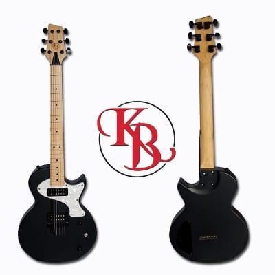 Killer B Custom Shop Single Cut 2017 Flat Black for sale