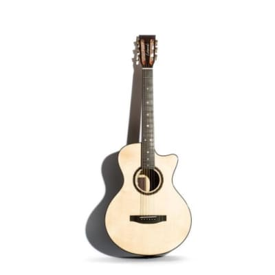 Lakewood A32CP Auditorium Cutaway Natural Finish Acoustic Guitar for sale