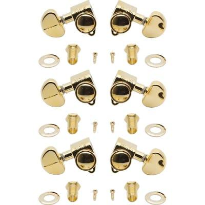 Grover 502G Roto-Grip Locking 3+3 Tuning Machines