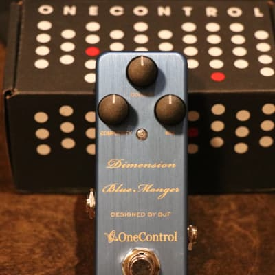 One Control Dimension Blue Monger Modulation FX Pedal for sale