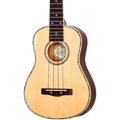 Mitchell MU70 12-Fret Concert Ukulele Regular Natural for sale