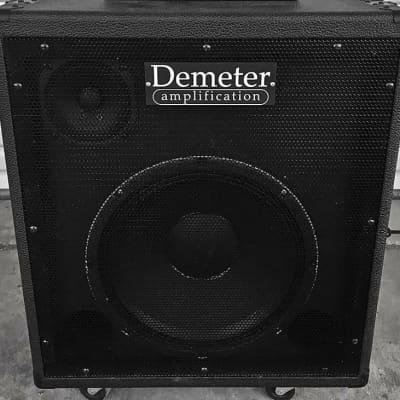 Demeter 1x12 (x5) Neo Flip-Top CAB Black Tolex for sale
