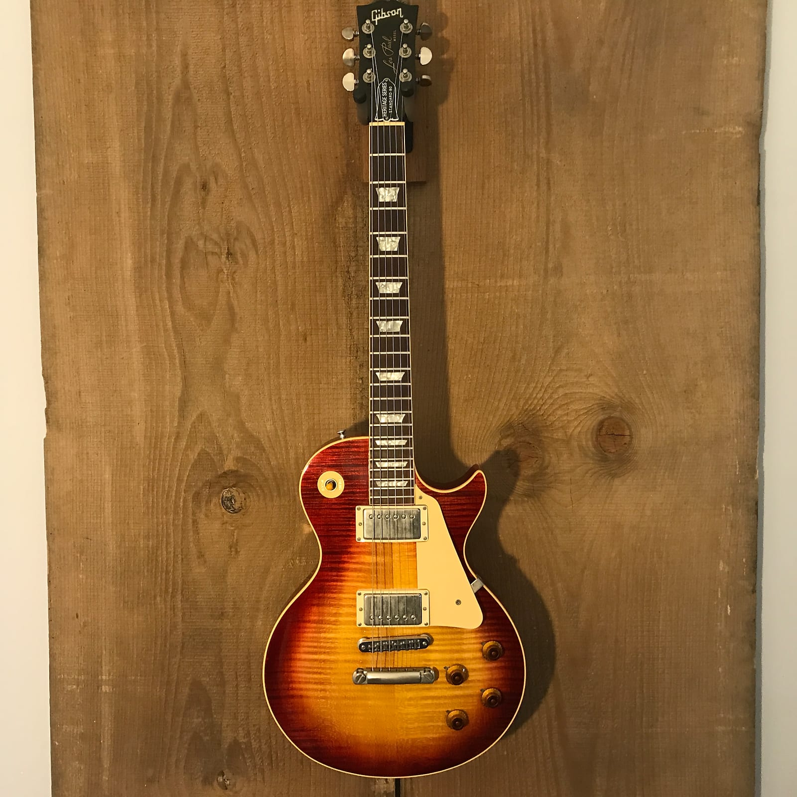 Gibson Les Paul Heritage Series Standard-80 Historic Sunburst 1981 #1939 w/ OHSC