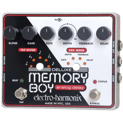 Electro-Harmonix Deluxe Memory Boy Analog Delay Pedal for sale