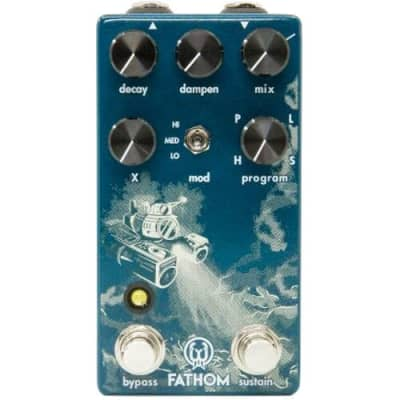 Walrus Audio Fathom Multi-Function Reverb effects pedal for sale
