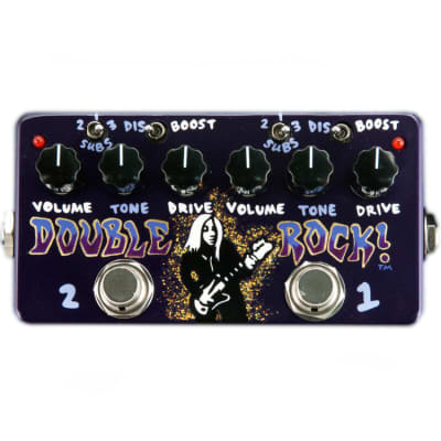 ZVEX Double Rock Hand Painted Guitar Pedal