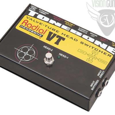 Radial Engineering ToneBone Headbone VT Tube Amplifier Head Switcher