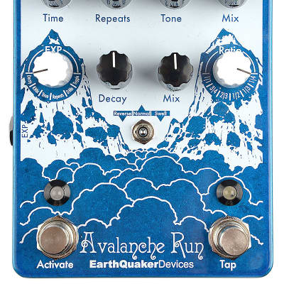 Earthquaker Devices Avalanche Run Stereo Delay and Reverb w/ Tap Tempo for sale