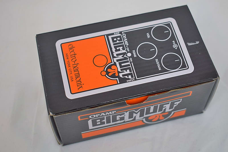 electro harmonix op amp big muff pi shipping included reverb. Black Bedroom Furniture Sets. Home Design Ideas