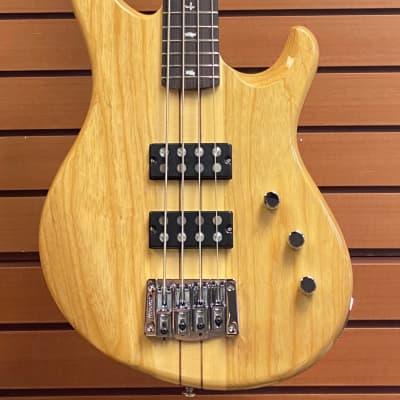 PRS SE Kingfisher Electric Bass Natural Finish for sale
