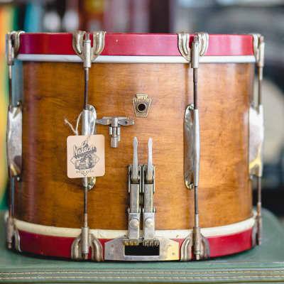 WFL Late 30s Twin Sensitive Parade Snare in Mahogany - 10x14
