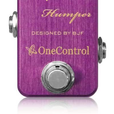 One Control Purple Humper Mid Boost - One Control Purple Humper Mid Boost for sale