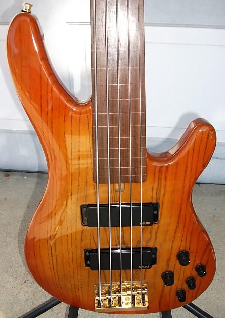 yamaha trb 5iif 5 string fretless electric bass guitar reverb. Black Bedroom Furniture Sets. Home Design Ideas