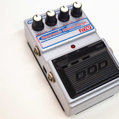 DOD FX-747 Supersonic Stereo Flange (Flanger of Jason Lamb Series)