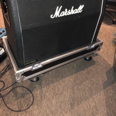 Marshall 1960A 4x12 300-Watt Angled Guitar Speaker Cabinet with Kent Custom lift off case