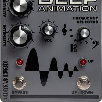 New Death By Audio Deep Animation Guitar Effects Pedal!