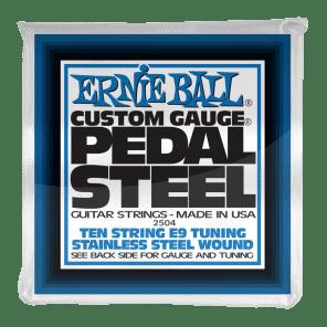 Ernie Ball 2504 10-String E9 Pedal Steel Stainless Steel Guitar Strings