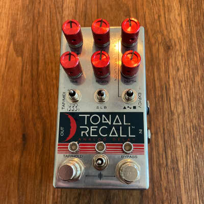 Chase Bliss Red Knob Mod  Tonal Recall Analogue Delay 2019 Red  / Silver