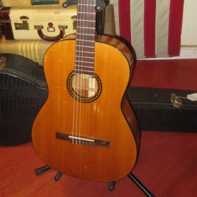 Vintage 1965 Gibson C-1-D Laredo Classical Guitar Natural w/ Original Hard Case for sale
