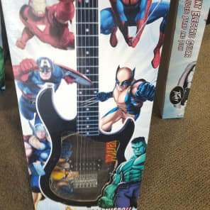 Peavey Rockmaster X-Men Electric Guitar Wolverine Graphic