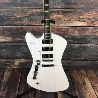 Dillion Left Handed Phoenix 17 DFB603RX Electric Guitar- White - Guitar Only for sale