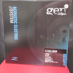 Zildjian GEN16 Acoustic-Electric Cymbal Pack