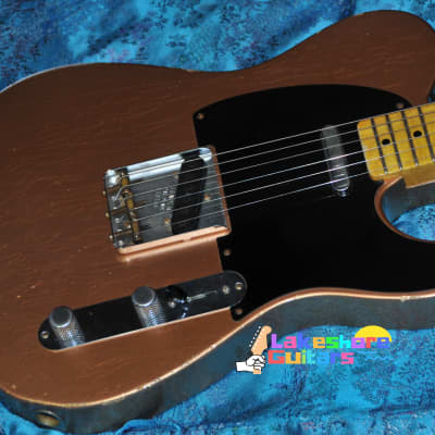 Fender Custom Shop '51 Reissue Nocaster Relic 2010 Copper for sale
