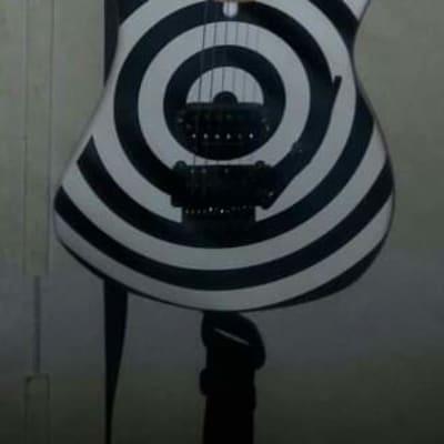 Kramer The 84 Baretta with Floyd Rose White Bullseye for sale